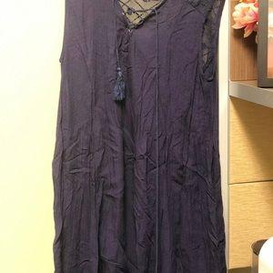 Easley Dress- Dark Blue